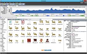 Omnipeek 10 affiche automatiquement les vignettes des fichiers qui passent sur le réseau