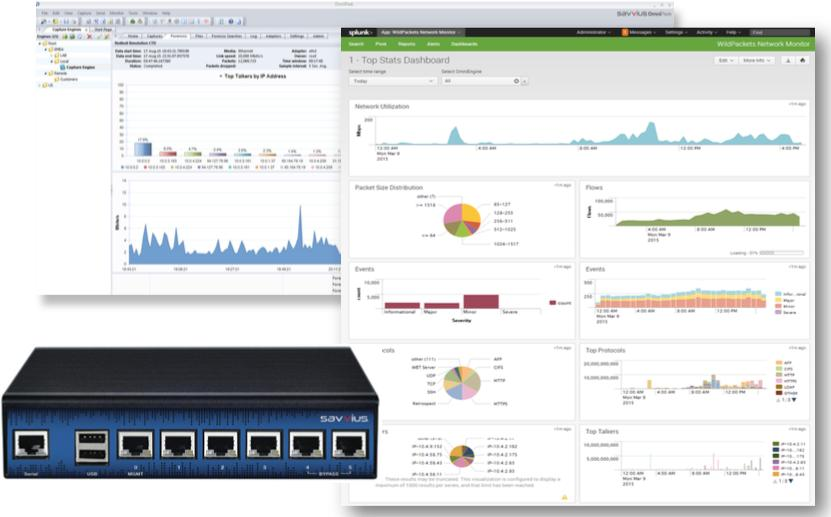 Solution de monitoring et diagnostic réseau ethernet gigabit : LiveWire