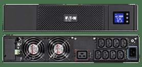 L'onduleur Eaton 5SC 3000VA en mode rack & vue des prises à l'arrière