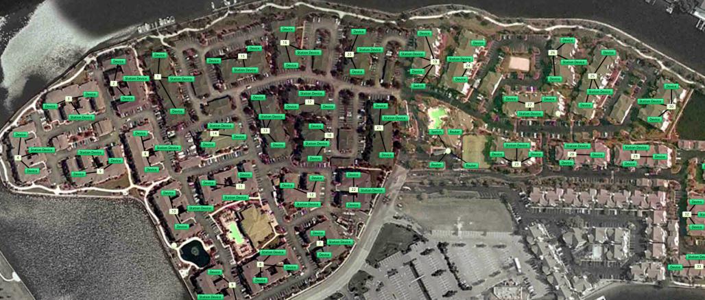 Intégration dans Google Earth des statistiques Intermapper