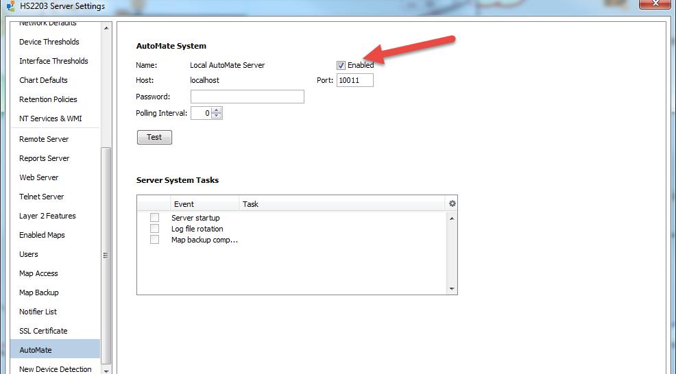 intégrez Intermapper et Automate