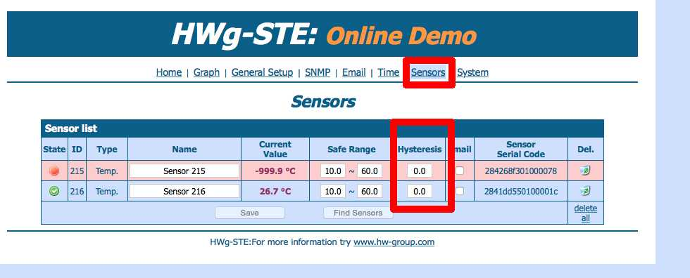 Le Thermomètre IP envoi un trop grand nombre de mails