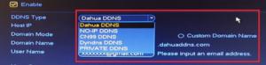 Renseignez les informations suivante sur le DNS