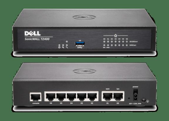 SonicWall TZ400 vendu en ligne par NetWalkerStore