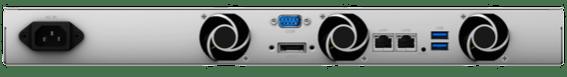 Face arrière et connecteurs du RackStation RS217